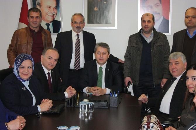 Milletvekili Adayları Deskkkop'u Ziyaret Etti