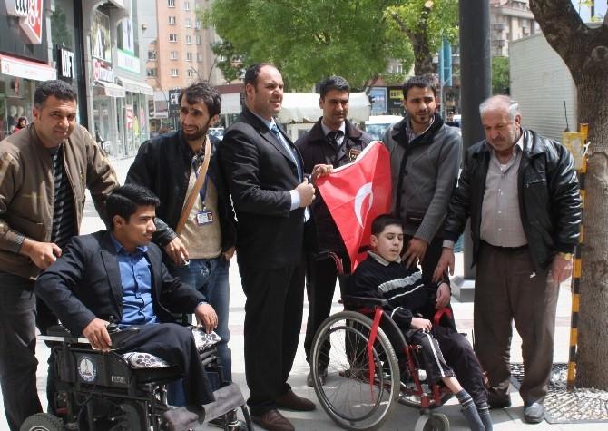 (Özel Haber) Gafed Suriyeli Engelli Çocuğu Unutmadı