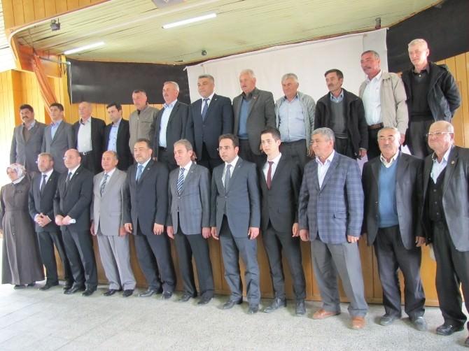 Hisarcık'ta AK Parti'li Adaylar Tanıtıldı