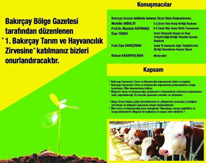 Bakırçay'ın Tarım Ve Hayvancılıktaki Sorunları Masaya Yatırılıyor