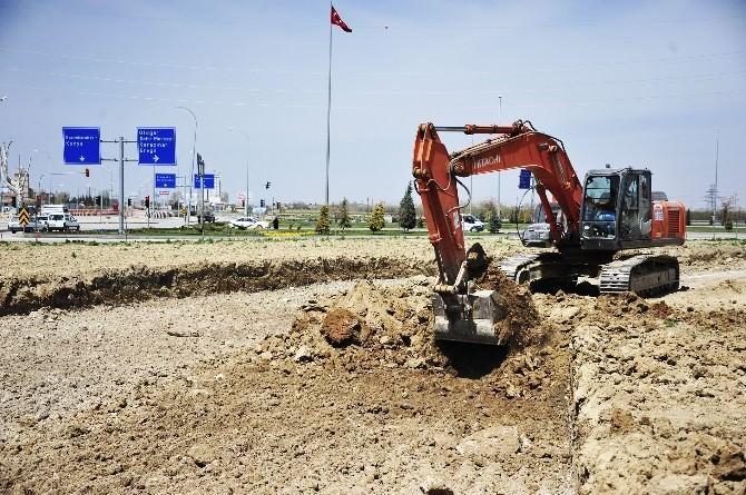 Necmettin Erbakan Parkı'nda Çalışmalar Başladı