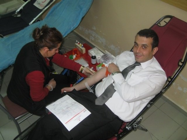 Kızılay, Kan Bağışı Etkinliği Düzenlendi