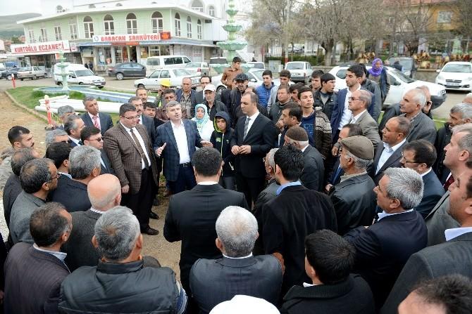 Başkan Akyürek, Yunak Yatırımlarını Başlattı