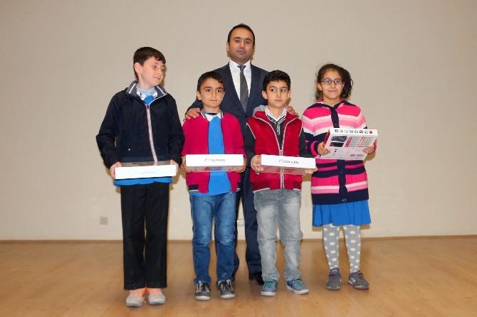 Yunak'ta Öğrencilere Ödül Töreni