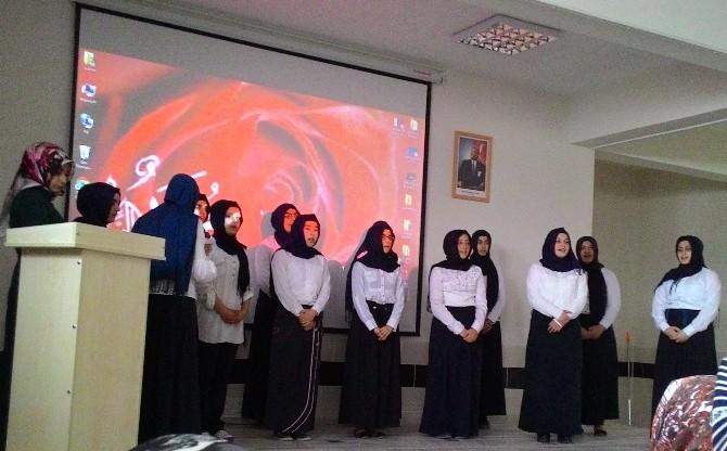Nevşehir Kız İmam Hatip Lisesinden Kutlu Doğum Programı