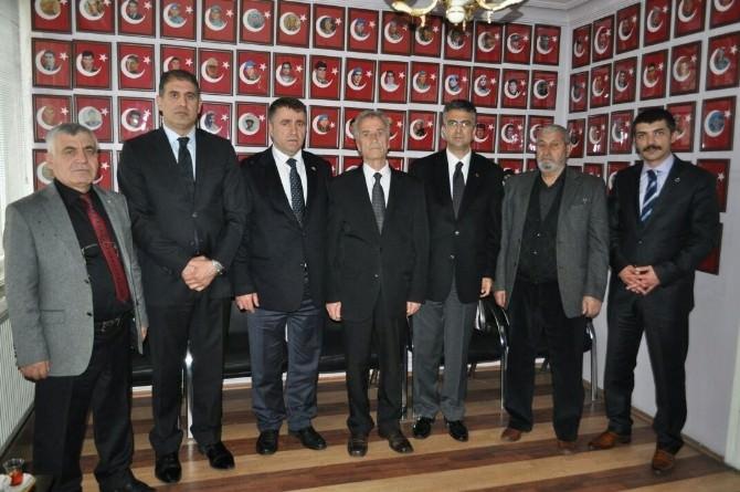 MHP Milletvekili Adaylarından Şehit Aileleri Derneğine Ziyaret