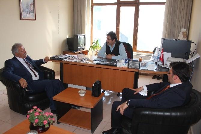 MHP Van Milletvekili Adaylarından Vgc Ve İHA'ya Ziyaret