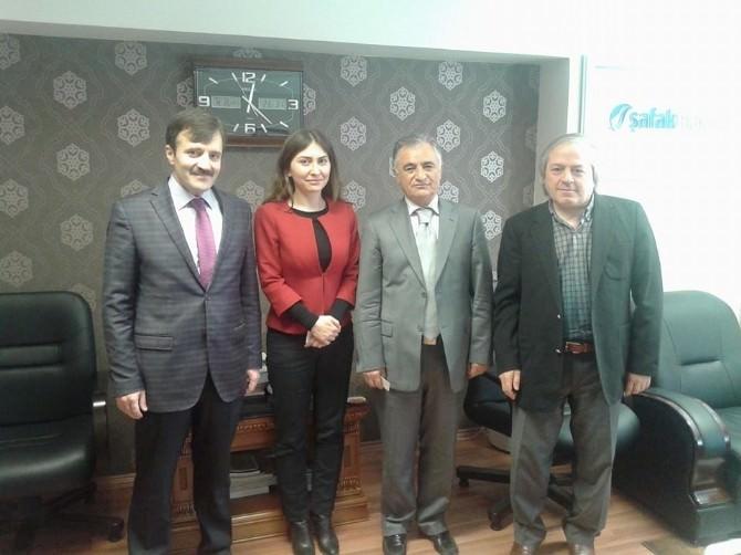 CHP Erzurum Adayı Gonca Aytaş Erzurum Sivil Toplum Platformu'nu Ziyaret Etti