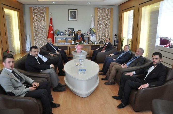 SP Adaylarından Aktaş'a Ziyaret
