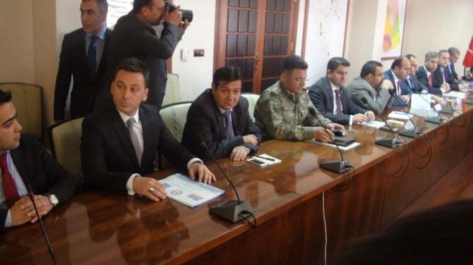 Seçim Öncesi Güvenlik Toplantısı Düzenlendi