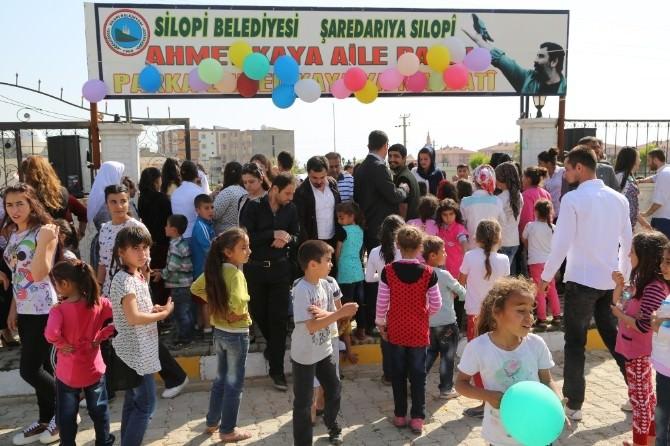 Silopi'de Aile Parkı Açılışı Yapıldı