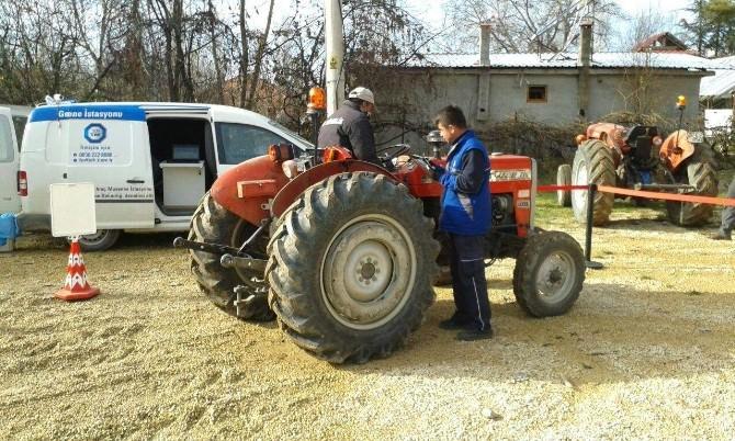 Traktöre Yerinde Muayene Hizmeti
