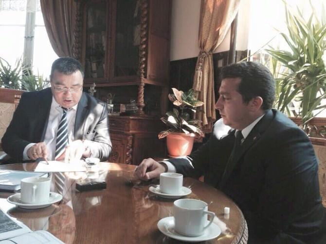 Başkan Bakıcı'dan Proje Ziyaretleri