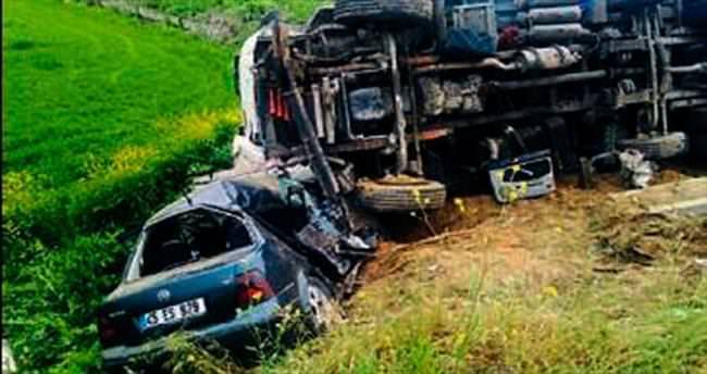 Salihli'deki kazada bir kişi vefat etti