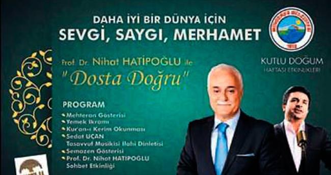 Nihat Hatipoğlu İzmir'e geliyor