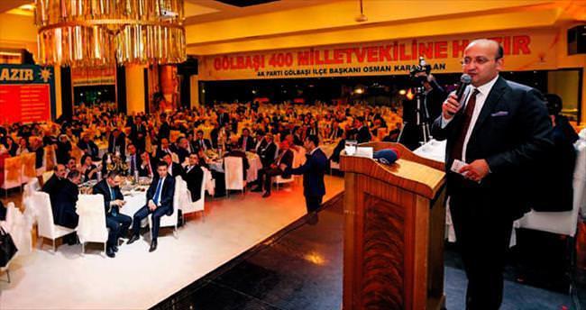 Akdoğan: Haziranda kader seçimi olacak