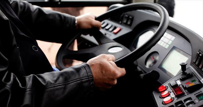 Otobüs şoförüne pilot disiplini