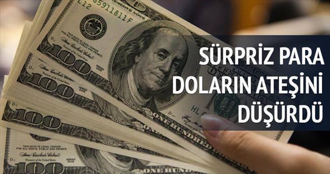 Sürpriz para girişi dolara fren yaptırdı