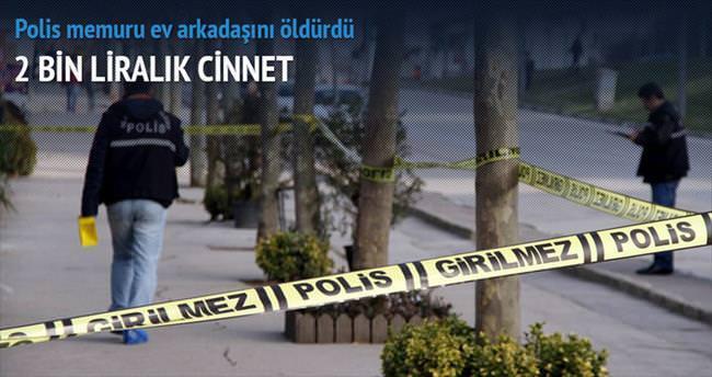 Polis memurunun 2 bin lira cinneti