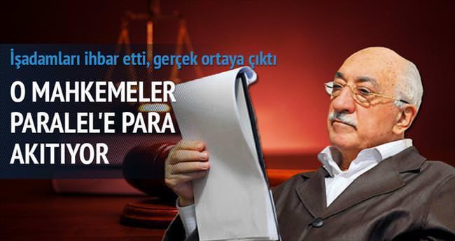 Ticaret mahkemeleri Paralel'in para makinesi