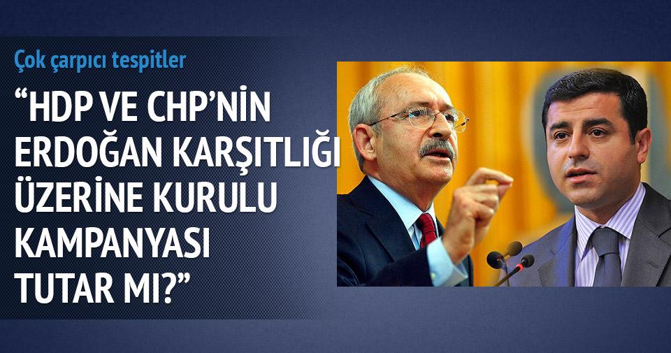 Erdoğan karşıtlığı seçim çalışmaları tutar mı?