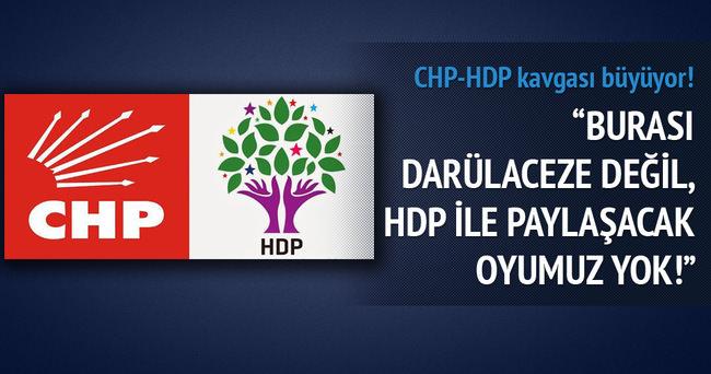 HDP ile paylaşacak oyumuz yok!