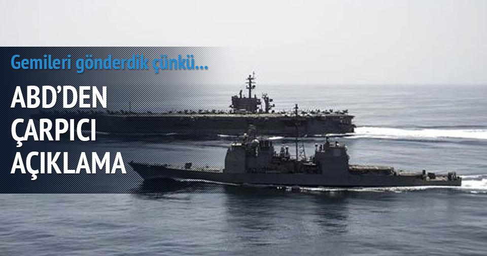 Yemen'e savaş gemilerini bu yüzden göndermiş