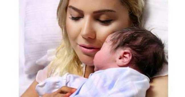 Ece Erken bebeğinin videosunu paylaştı