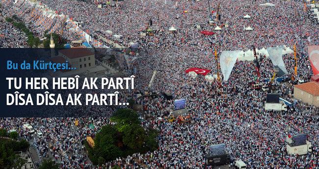 AK Parti'nin Kürtçe seçim şarkısı belli oldu