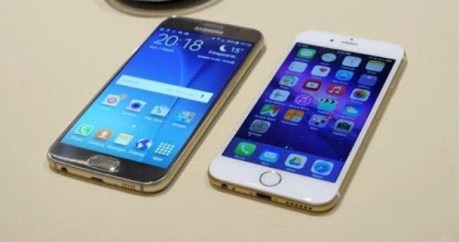 Samsung S6 iPhone'un hızını kesti!