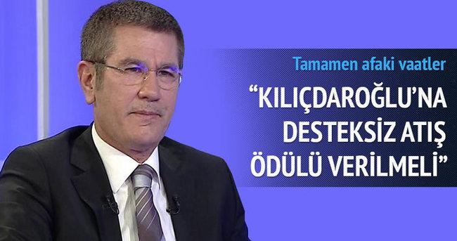 Nurettin Canikli: Kılıçdaroğlu'na desteksiz atış ödülü verilmeli