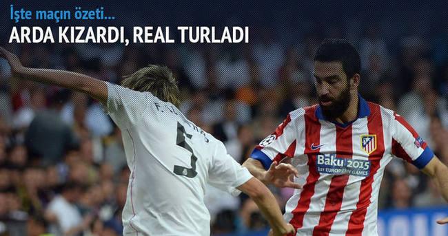 Real Madrid Atletico Madrid maçı özeti ve golleri (GENİŞ ÖZET)