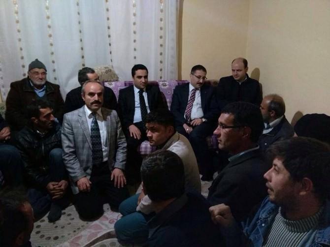 AK Parti İl Başkanı Bekiroğlu'ndan Ev Ziyaretleri