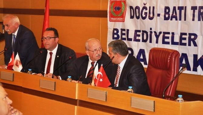Trakya Belediyeler Birliği Trakyakent 2015 Nisan Ayı Olağan Meclis Toplantısı Düzenlendi