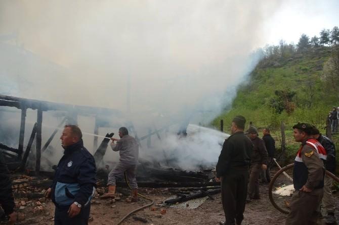 Yığılca'da Ev Yangını: 1 Ölü