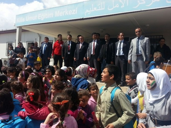 Suriyeli Öğrencilere Anlamlı Etkinlik