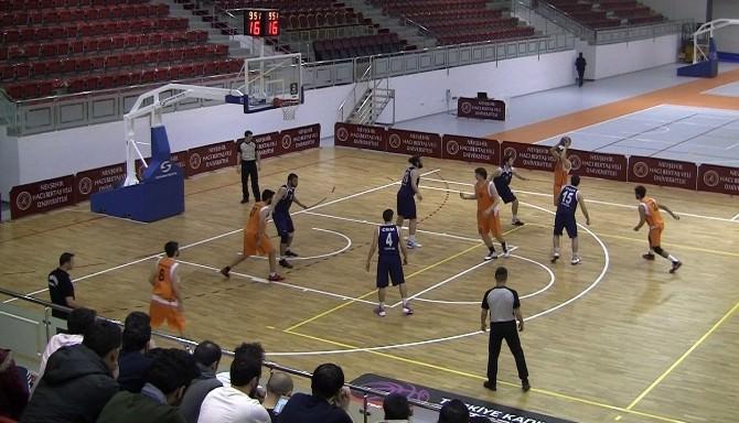 Üniversitelerarası 1. Lig Erkek Basketbol Grup Müsabakaları NEÜ Ev Sahipliğinde Oynandı