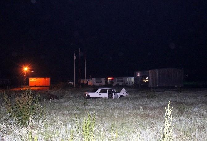 Otomobil İle Motosiklet Çarpıştı: 1 Ölü 1 Yaralı