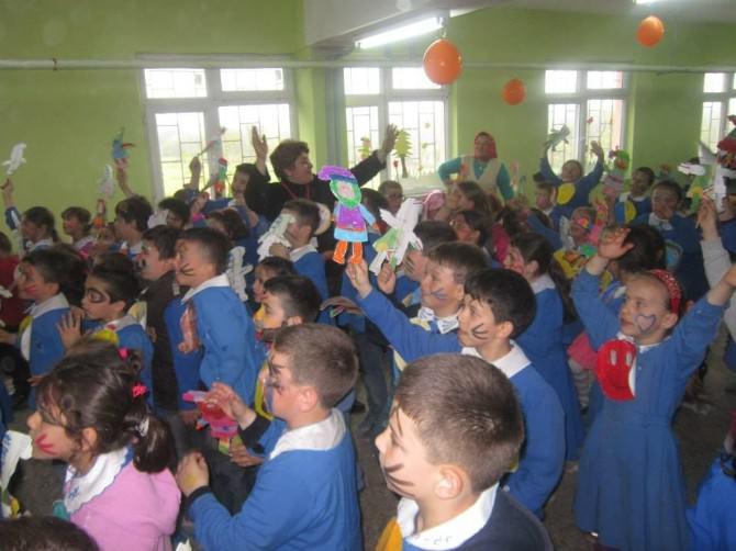 TEGV Çaycuma Adaköy İlkokulunda 23 Nisanı Öncesi Etkinlik