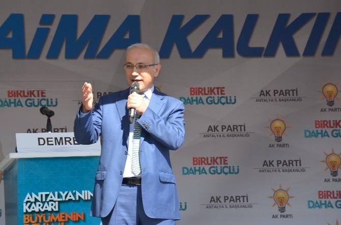Türkiye'nin En Uzun 2. Tüneli Antalya'ya Yapılıyor