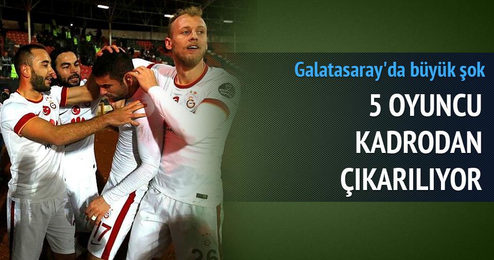 Galatasaray'da büyük şok