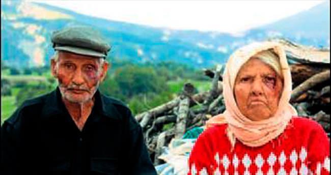 Denizli'de yaşlı çifti dövüp birikimlerini gasp ettiler