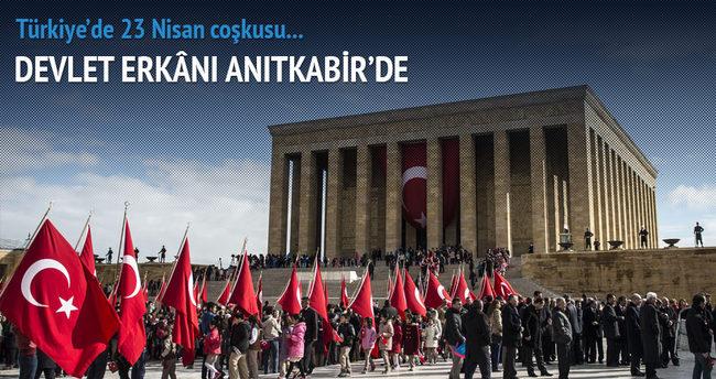 Türkiye'de 23 Nisan coşkusu