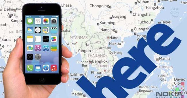 Apple, Nokia'nın 'HERE' servisini almak için sıraya girdi!