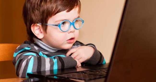 Çocukların yarısından fazlası internette