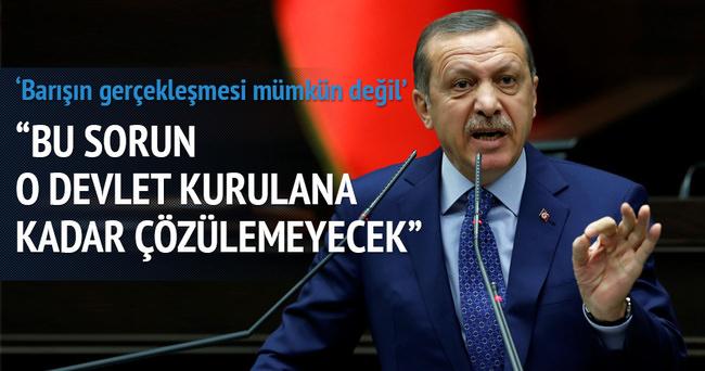 Erdoğan'dan Filistin açıklaması