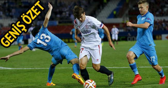 Zenit Sevilla maçı özeti ve golleri (Geniş özet)