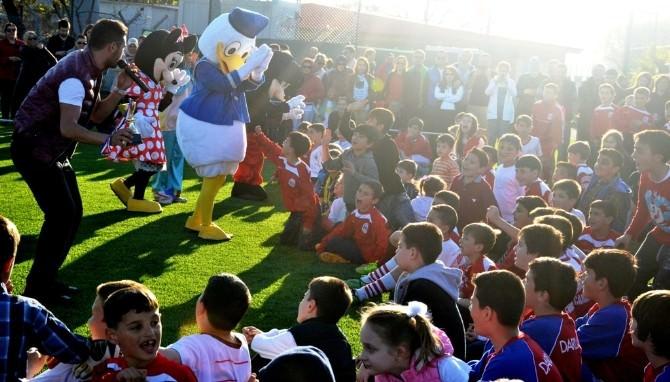 Çanakkale Dardanelspor Çocuklarla Kucaklaştı