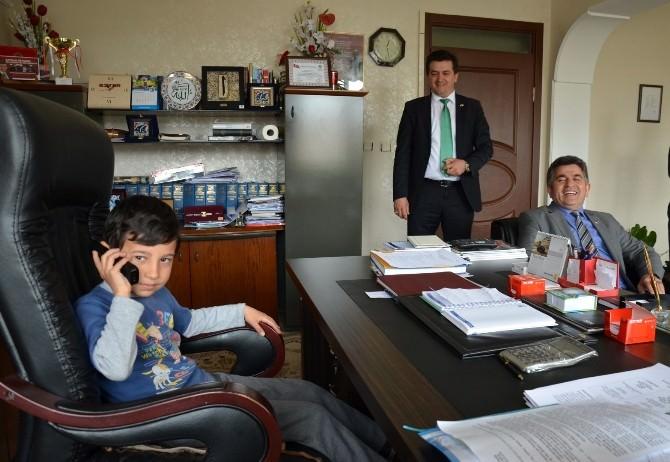 Küçük Başkan Altepe'den Spor Tesisi İstedi