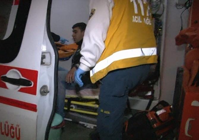 Otomobille Çarptığı Yaralıyı Bırakıp Kaçtı